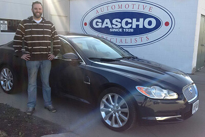 Happy client with new car from Gascho